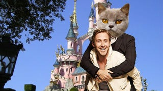 Illustration for article titled Ryan Gosling's monster movie with Christina Hendricks might be the best thing ever
