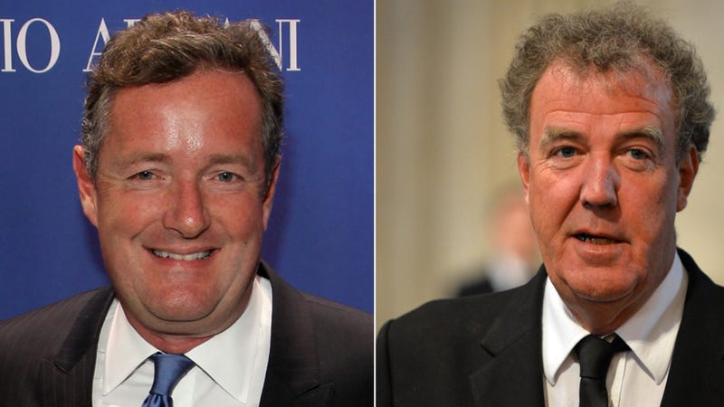 Illustration for article titled Jeremy Clarkson Twitter-Gloats Over Piers Morgan's Cancellation