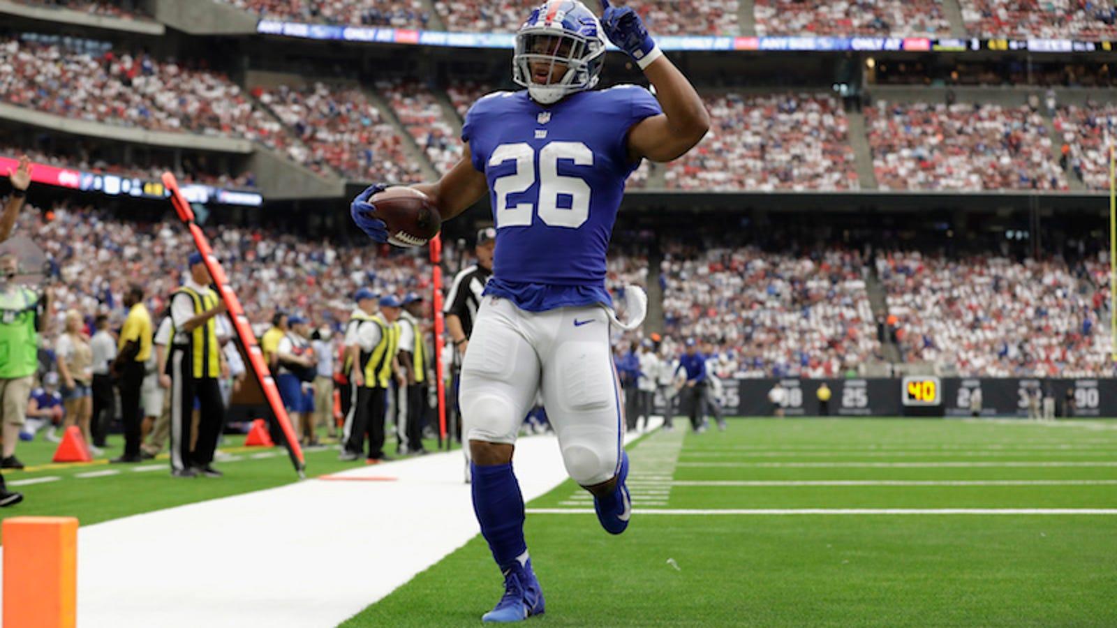 The Giants Finally Used Saquon Barkley The Right Way