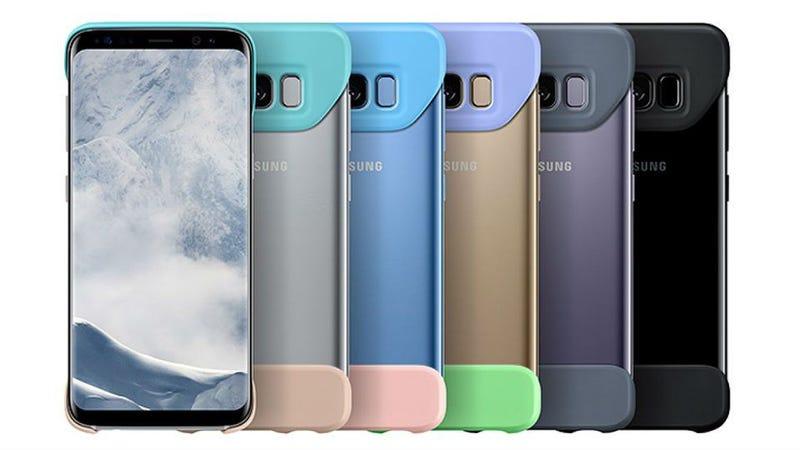 Illustration for article titled La nueva funda oficial del Galaxy S8 deja la parte trasera y los bordes de la pantalla sin protección