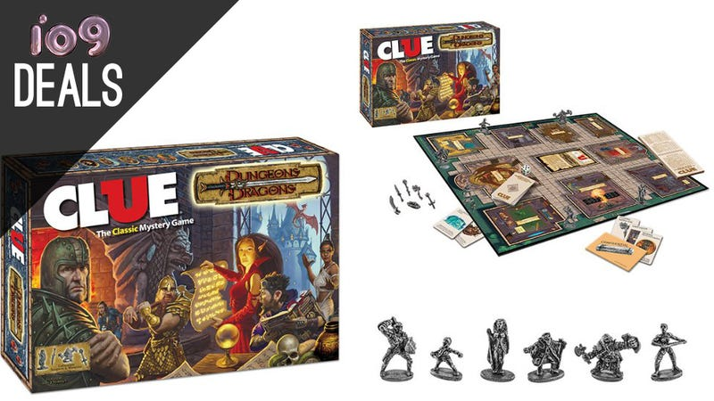Illustration for article titled Dungeons and Dragons Clue, Mohu Antennas, Nest Protect [Deals]