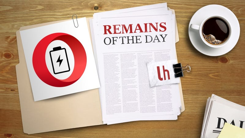 Illustration for article titled Remains of the Day: Opera Takes Aim at Microsoft's Battery Life Claims