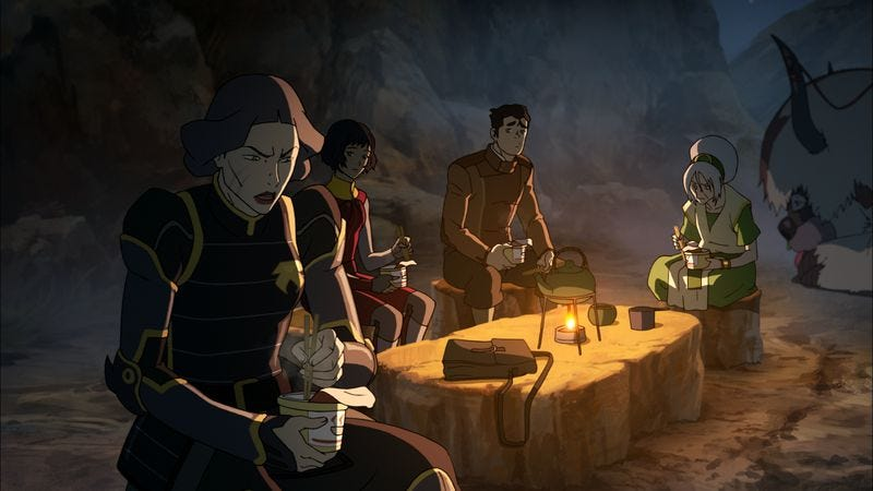 "Illustration for article titled The Legend Of Korra: ""Operation Beifong"""