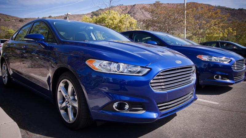 Illustration for article titled The US Might Get A Three-Cylinder Ford Fusion And Yes This Is A Rumor