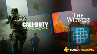 Illustration for article titled Modern Warfare And The Witness Are The Only PlayStation Plus Games For March