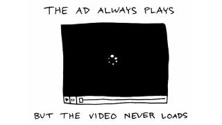 Illustration for article titled The Truest Comic About Videos on Websites