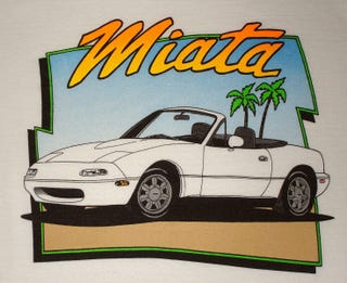 Illustration for article titled MIATA LIFE!