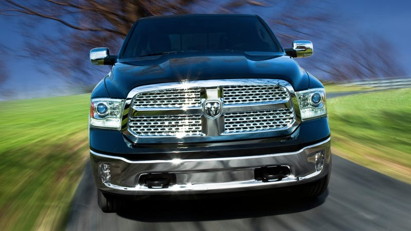 Illustration for article titled 2013 Ram 1500: My Name Is Ram, My Eight-Speed Tranny Has A Big Knob