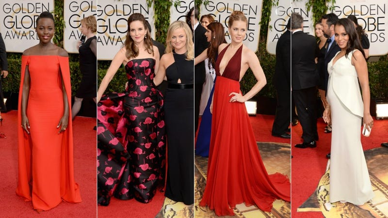 Illustration for article titled All the Looks From the Golden Globes Red Carpet
