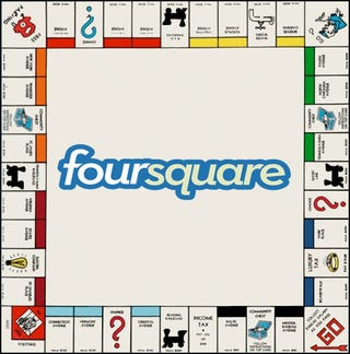 Illustration for article titled Foursquare's Monopoly App Might Actually Make the Service Fun