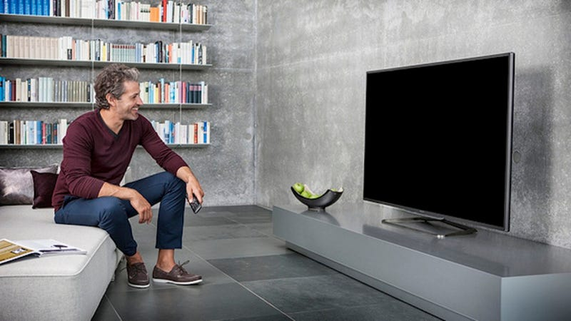 Illustration for article titled People Staring at Blank Television Screens