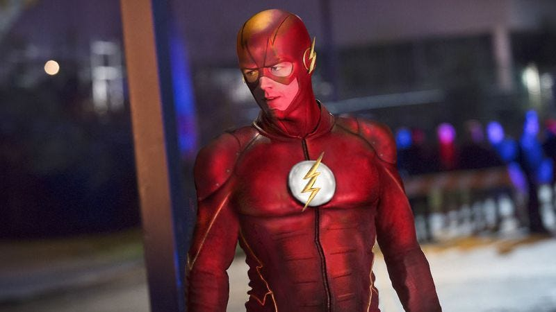 The Flash, but the fun CW one, not the presumably dour feature-film one