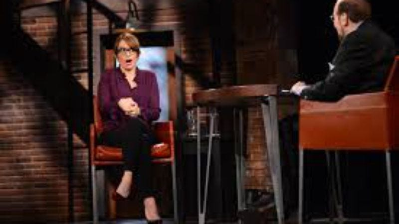 Illustration for article titled Watch Tina Fey adorably resurrect her Sarah Palin impersonation on Inside The Actors Studio