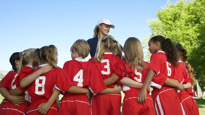 Illustration for article titled Hey, Sporty Moms! You Should Coach Your Daughters' Sports Teams!