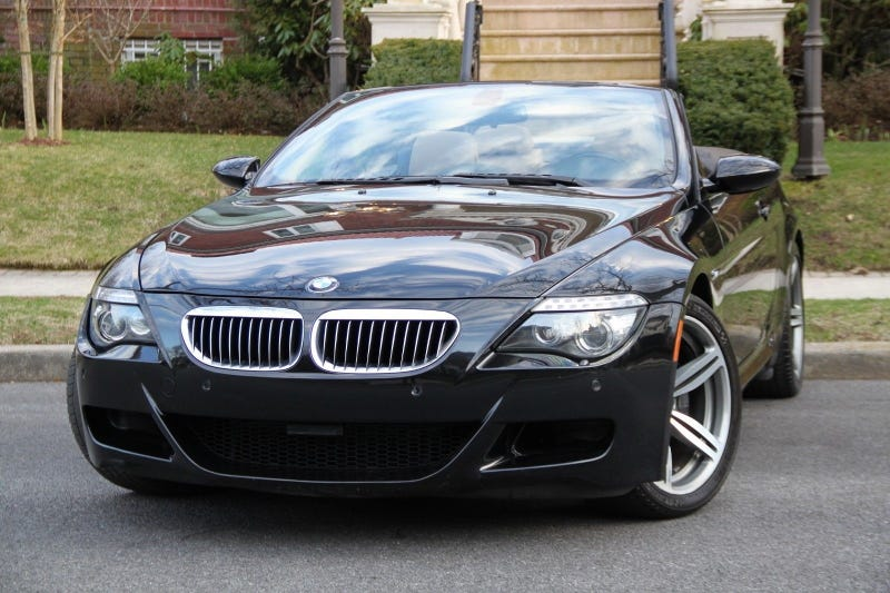 Illustration for article titled At $26,900, Could You See Yourself In This 2008 BMW M6 Convertible?