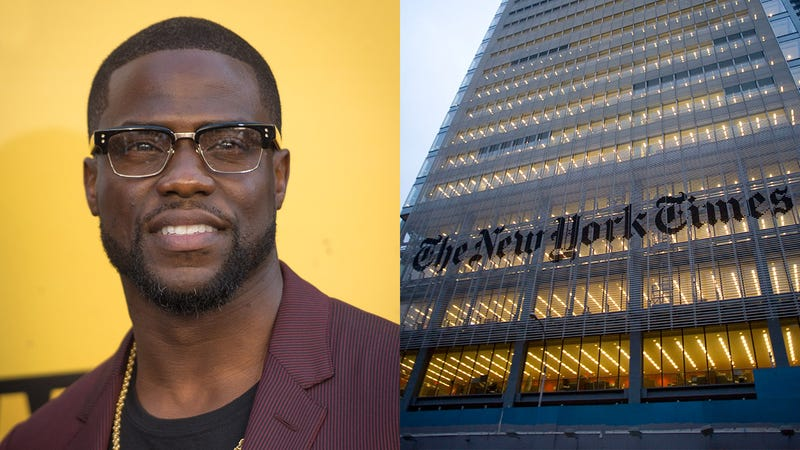 Illustration for article titled Hard-Hitting Journalism: A 7-Year Joint Investigation Between 'The New York Times' And Kevin Hart Has Found That Women Take Too Long To Put On Makeup