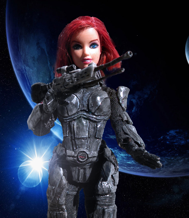 How To Turn Mass Effect 3 S Shepard Into A Barbie Doll