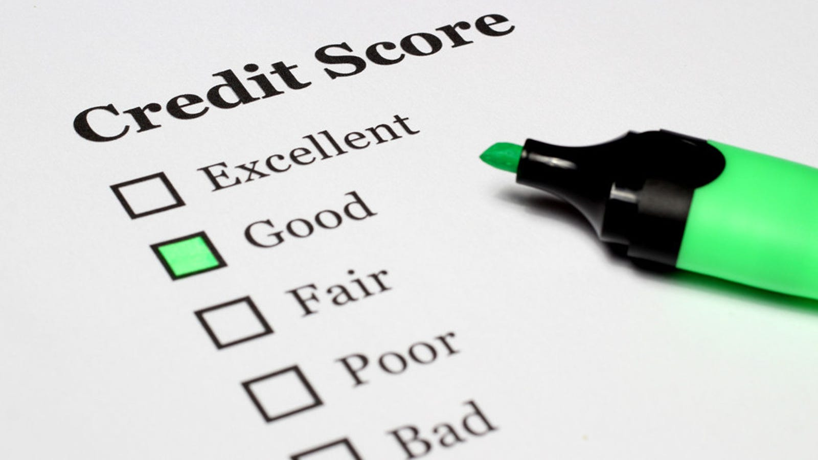 How to Get Rid of Bad Marks on Your Credit Report