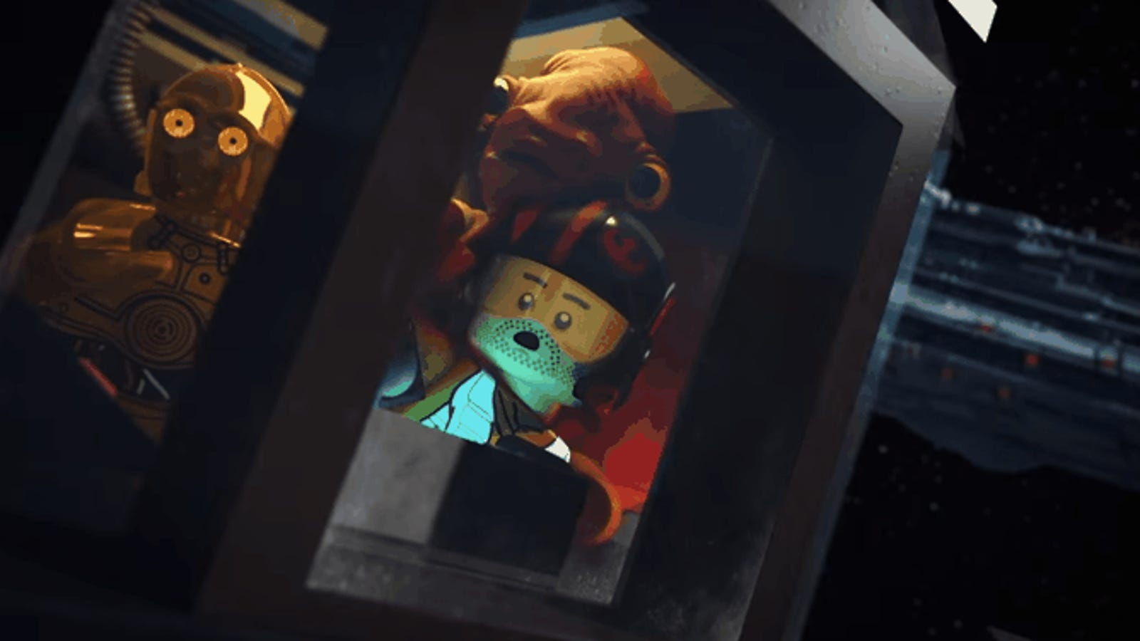 Poe Dameron salva a la Resistencia en este genial corto de Star Wars animado en Lego