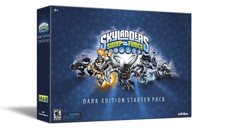 Illustration for article titled You Can Only Get The Skylanders Swap Force Dark Edition At GameStop
