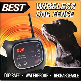 Illustration for article titled Wireless Dog Fence - Take it With You, and Your Dog Too!