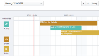 Illustration for article titled TeamWeek Creates Interactive Gantt Charts for Your Group Tasks