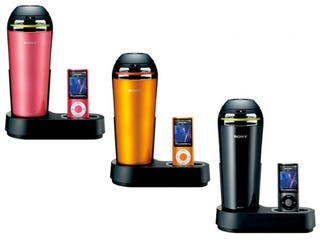 Illustration for article titled Give Me One Good Reason Why Anyone Would Need a Thermos-Like iPod Dock