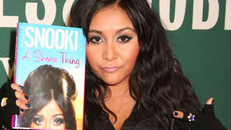 """2a50a3904a07 Illustration for article titled Nicole """"Snooki"""" Polizzi s A Shore Thing"""