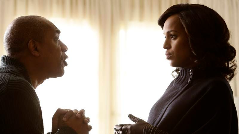 Illustration for article titled Scandal gives us everything we didn't want in a Papa Pope-centric episode
