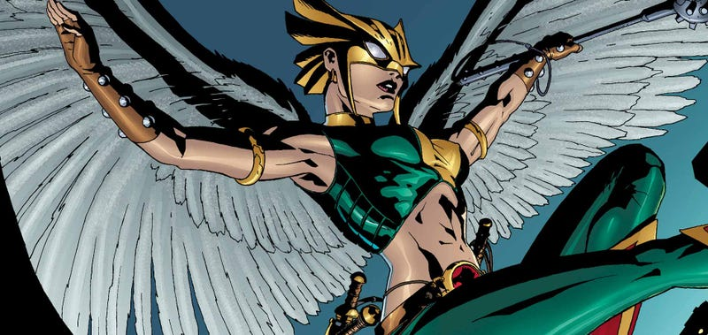 Illustration for article titled Is The CW Expanding Their DC Universe With Hawkgirl?
