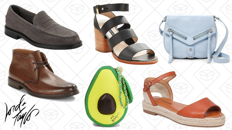 Up to 80% off select shoes and handbags