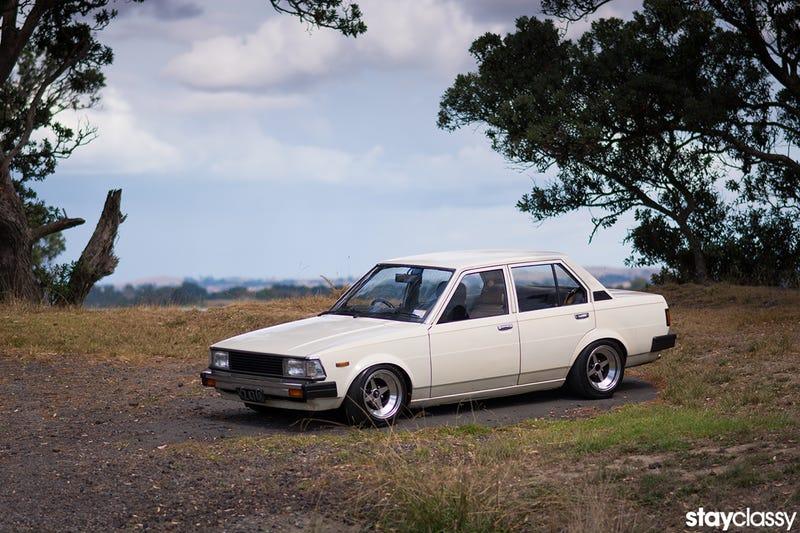 Illustration for article titled JOYRIDE // 240hp '83 DX Corolla