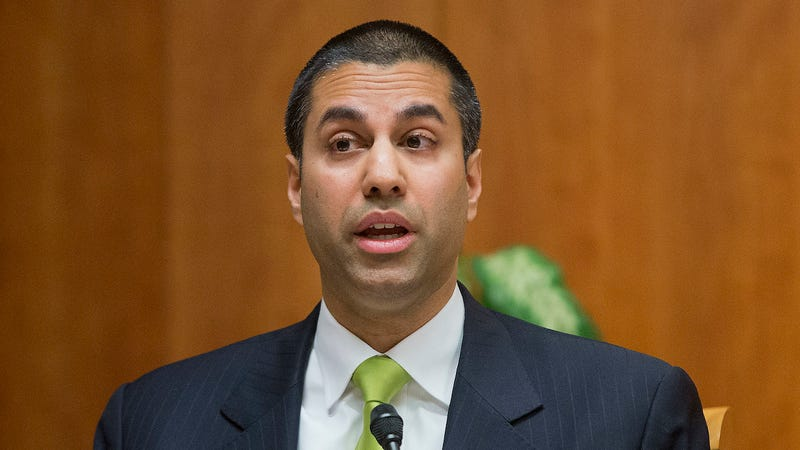 "FCC Commissioner Ajit Pai speaks during an open hearing and vote on ""Net Neutrality"" in Washington. (Photo: AP)"