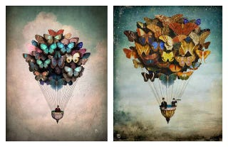 Illustration for article titled Harnessing the Power of Butterflies Was a Boon to Air Balloon Travel