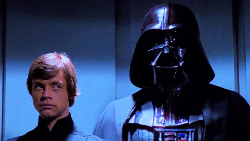 A Skywalker and an Imperial leader...who is also a Skywalker.