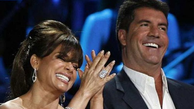 Illustration for article titled Simon Cowell and Paula Abdul to prolong their awkward dance for the X Factor