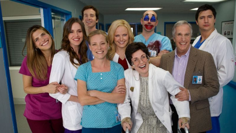 Illustration for article titled Rob Corddry walks us through Childrens Hospital's third season