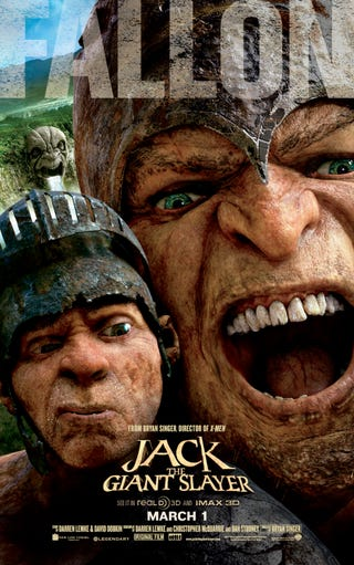 Illustration for article titled Jack the Giant Slayer Poster