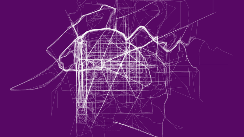 Illustration for article titled The World's Most Popular Running Routes, Visualized