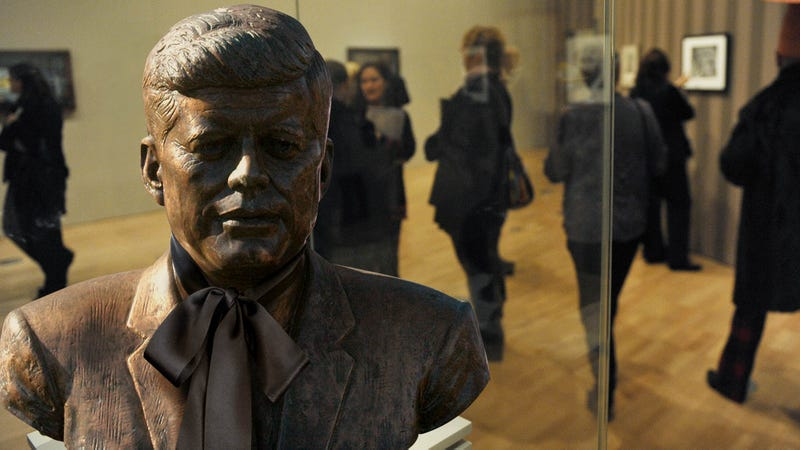 A Piece Of History: The Beautiful Velvet Ribbon That Made JFK's Head Fall Off When It Was Untied Is Coming To The Smithsonian