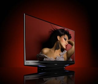 Illustration for article titled Mitsubishi 65-inch LaserVue Rear Projection 1080p TV Priced (Expensively)