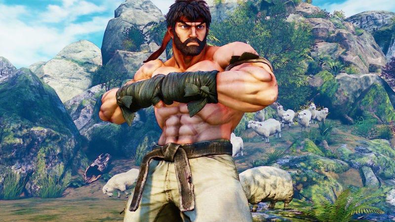 Illustration for article titled More Street Fighter V Beards, Capcom. Do It.