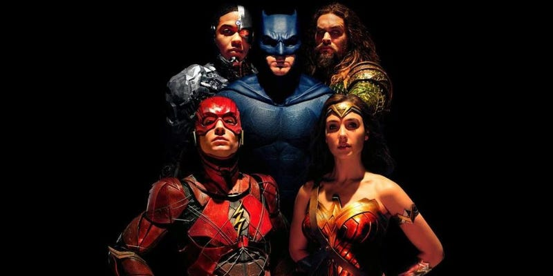"""Illustration for article titled """"Everybody Knows That It's Now or Never"""": Thoughts on Justice League"""