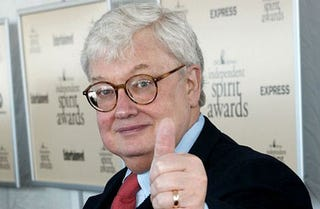 Illustration for article titled Roger Ebert Gives Jay Mariotti A Strategically Placed Thumb On His Way Out The Door