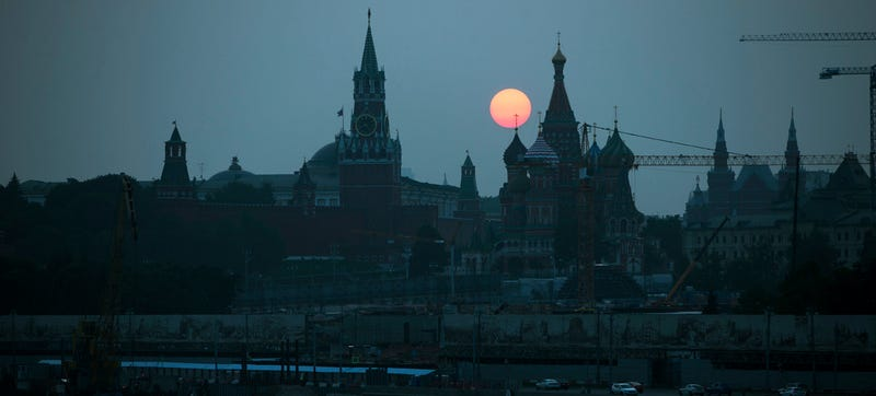 The Kremlin. Photo credit AP
