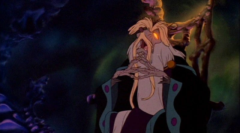 Nicodemus, as seen in the 1982 animated film The Secret of NIMH. Image: Don Bluth Wiki