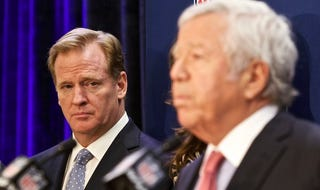 Illustration for article titled The Dispute Between Robert Kraft And Roger Goodell Just Got Sexy