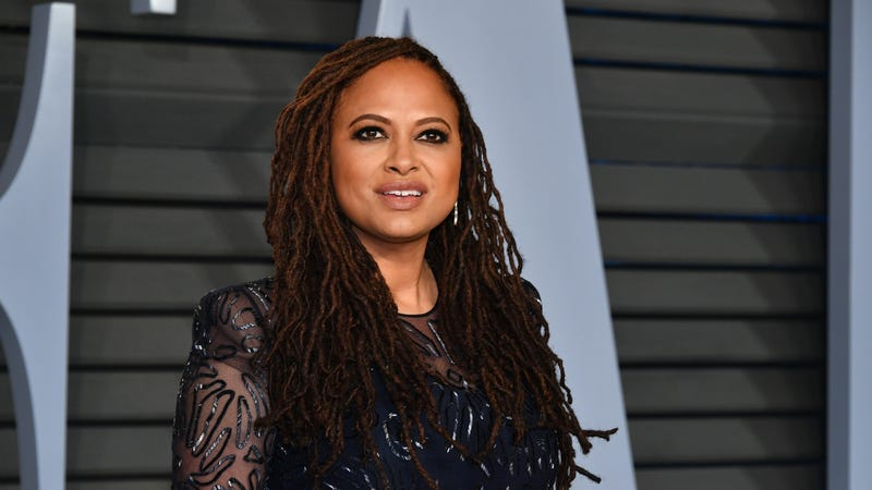 Ava DuVernay attends the 2018 Vanity Fair Oscar Party hosted by Radhika Jones on March 4, 2018 in Beverly Hills, California.