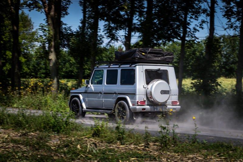 Using A Mercedes-Benz G-Wagen As A Camper Finally Gives It A