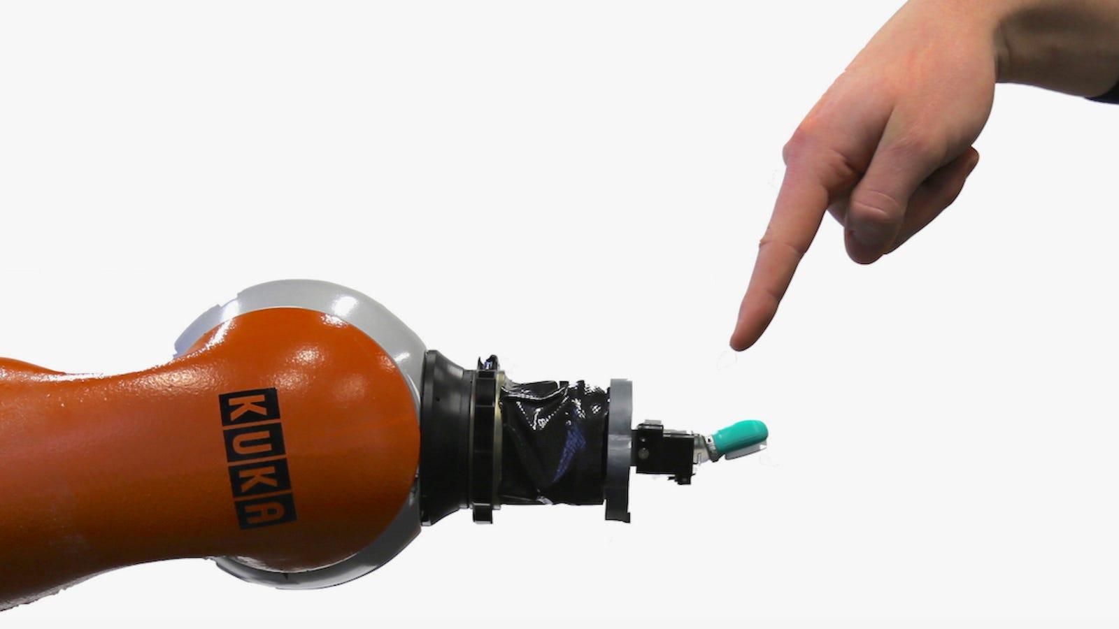 Desarrollan un sistema de nervios artificiales para que los robots puedan sentir dolor